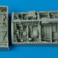 Accessory for plastic models - Mitsubischi F-2A/B wheel bays