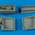 Accessory for plastic models - J35 Draken wheel bays
