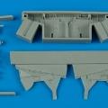 Accessory for plastic models - Hawker Hurricane Mk. I/II wheel bay