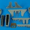 Accessory for plastic models - F-105D Thunderchief wheel bay