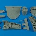 Accessory for plastic models - F8F-1 Bearcat wheel bay