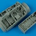 Accessory for plastic models - F-16C Falcon wheel bays