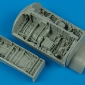 Accessory for plastic models - F-16C/D Falcon wheel bays