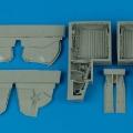 Accessory for plastic models - P-47 Thunderbolt wheel bays