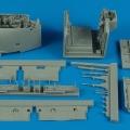 Accessory for plastic models - AV-8B Harrier II wheel bay