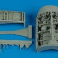 Accessory for plastic models - F-16I Sufa wheel bay