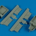 Accessory for plastic models - F4U-7 Corsair wheel bay