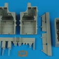 Accessory for plastic models - F-22A Raptor wheel bays