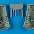 Accessory for plastic models - SB2C Helldiver wheel bay