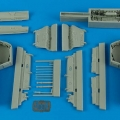 Accessory for plastic models - F-14 Tomcat wheel bay