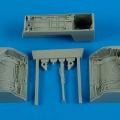 Accessory for plastic models - MiG-23 Flogger wheel bay