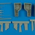 Accessory for plastic models - T-28 Trojan wheel bay