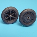 Accessory for plastic models - Bf 109F wheels + paint mask