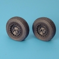 Accessory for plastic models - Me 262A SCHWALBE wheels + paint mask