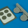 Accessory for plastic models - Bf 109G-6 wheel & paint masks