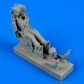 Accessory for plastic models - Russian pilot with KS-4 ejection seat for Su-7/9/11/15/17 …
