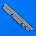 Accessory for plastic models - F-14D Tomcat front undercarriage covers