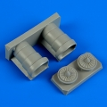 Accessory for plastic models - F/A-18A/C Hornet air intakes