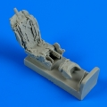 Accessory for plastic models - MiG-23 Flogger ejection seat with safety belts