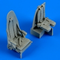 Accessory for plastic models - Mosquito Mk. IV seats with safety belts