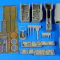 Accessory for plastic models - F/A-18A Hornet detail set