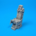 Accessory for plastic models - F-16 ejection seat with safety belts