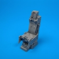 Accessory for plastic models - F-15 ejection seat with safety belts