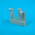 Accessory for plastic models - Bf 109G-6 dust filter-early model