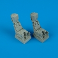 Accessory for plastic models - F/A-18D ejection seats with safety belts