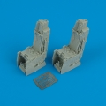 Accessory for plastic models - F-15E ejection seats with safety belts