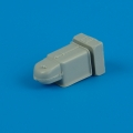Accessory for plastic models - Bf 109K gun cover