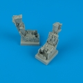 Accessory for plastic models - F-14A ejection seats with safety belts