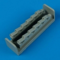 Accessory for plastic models - Bf 109E exhaust
