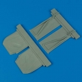 Accessory for plastic models - P-51B Mustang undercarriage covers