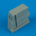Accessory for plastic models - Bf 109E ammunition boxes