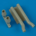 Accessory for plastic models - Ju 87D-5N night exhaust type A