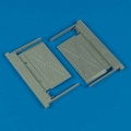 Accessory for plastic models - MiG-29A Fulcrum intake covers (B)