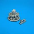 Accessory for plastic models - F4U-1 Corsair engine