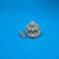 Accessory for plastic models - F8F Bearcat engine
