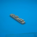 Accessory for plastic models - MiG-21MF air cooling scoops
