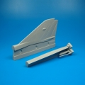 Accessory for plastic models - MIG-21MF vertical tail area