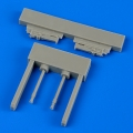 Accessory for plastic models - Gloster Gladiator guns