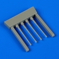 Accessory for plastic models - N1K2-J Shiden-Kai gun barrels