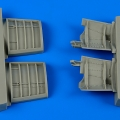 Accessory for plastic models - Jas-39A/C Gripen speed brakes