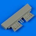 Accessory for plastic models - Gloster Gladiator cockpit´s door