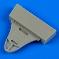 Accessory for plastic models - Gloster Gladiator bulkhead