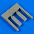 Accessory for plastic models - T-38A Talon air scoops