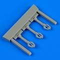 Accessory for plastic models - Lavochkin La-5 control lever
