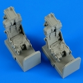 Accessory for plastic models - OV-1 Mohawk ejection seats with safety belts