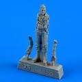 Accessory for plastic models - U.S.A.F. pilot - Vietnam War 1965 - 1973